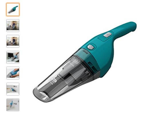 Aspiradora de mano Black and Decker WDB-215-WA