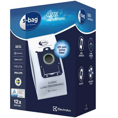 Bolsas Electrolux E201SM  S-Bag Classic Long Performance
