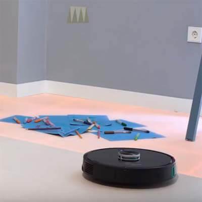 Zonas restringidas, a las cuales el robot no accederá