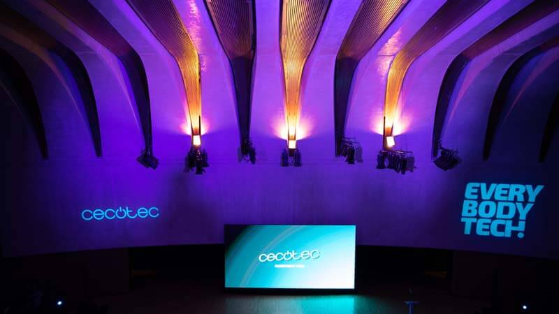 Evento Cecotec - interior