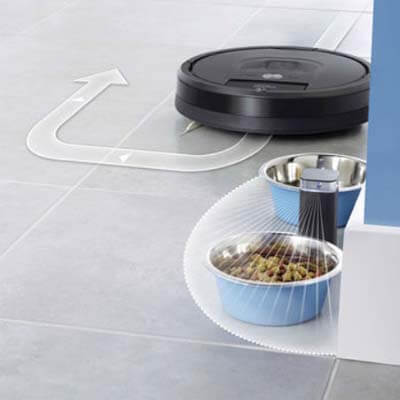 Roomba 980 pared virtual