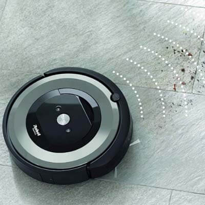 Roomba e5 tecnología Dirt Detect