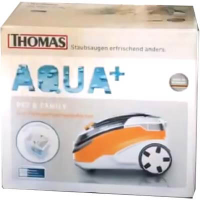 Caja de la Thomas Aqua+ Pet & Family