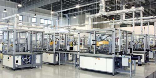 Fábrica de Dyson en West Park (Singapur)
