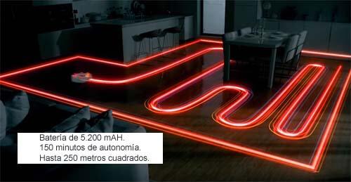 Xiaomi Mi Vacuum mapeado de estancias