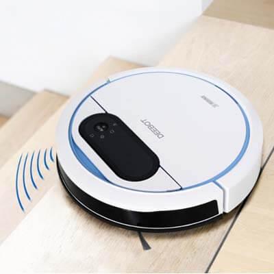 La Deebot 300 cuenta con sensores anticaída