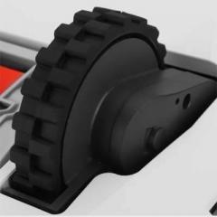 Detalle de la rueda del Xiaomi Xiaowa