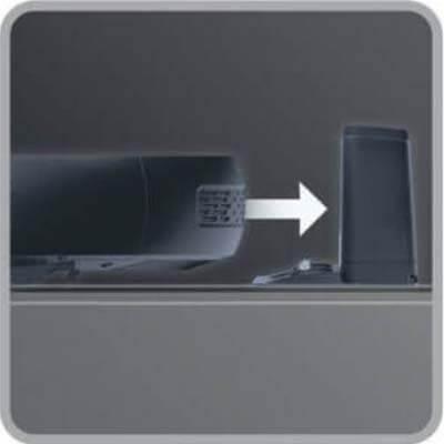 Sistema de autocarga cuando se está agotando la batería