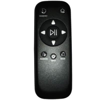 Su mando a distancia es cómodo y fácil de utilizar