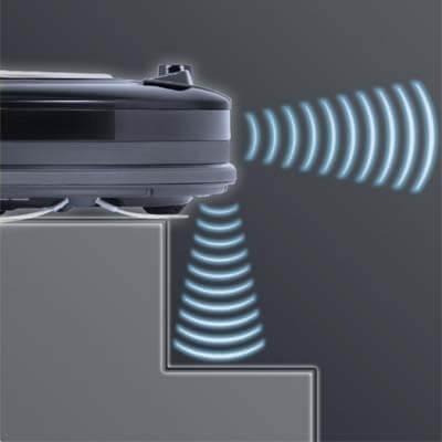 Sus 6 sensores de caída evitan problemas