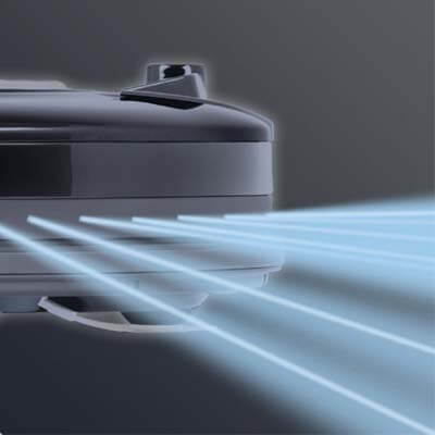 Sus sensores de infrarrojos le permiten una navegación fluida