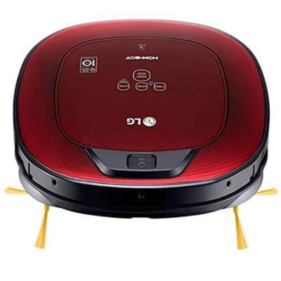LG VR8602RR, un robot aspirador cuadrado, silencioso y muy completo
