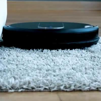 Conga Serie 1290 limpiando alfombra
