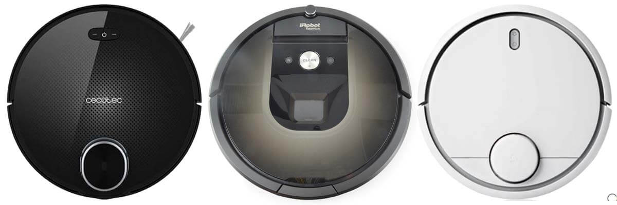 Mejor robot aspirador Conga 3090, Xiaomi Vacuum 2, Roomba 980