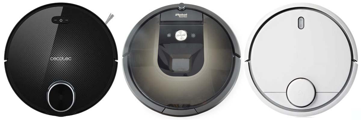 Mejor robot aspirador Conga 3090 vs Xiaomi Vacuum 2 vs Roomba 980