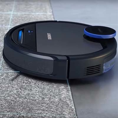 Deebot Ozmo 930 Carpet Detection