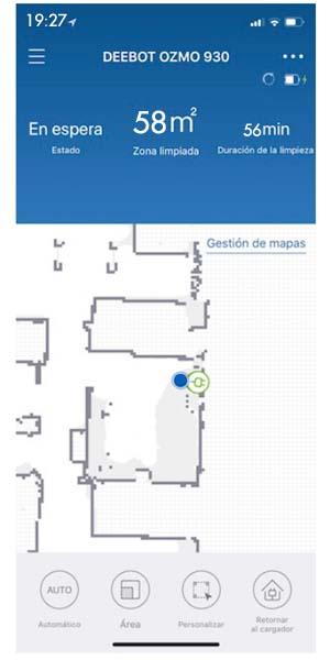 Deebot Ozmo 930 aplicación
