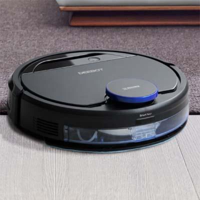 Deebot Ozmo 930 limpiando alfombra