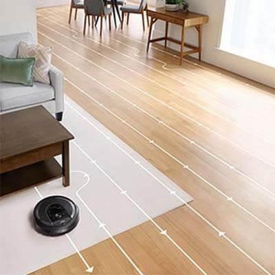 Roomba i7 Plus limpieza ordenada