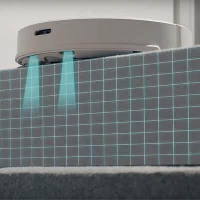 Roborock S6 sensor anticaída