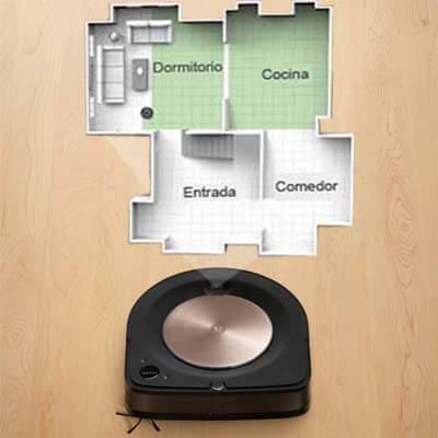 Roomba S9+ habitaciones
