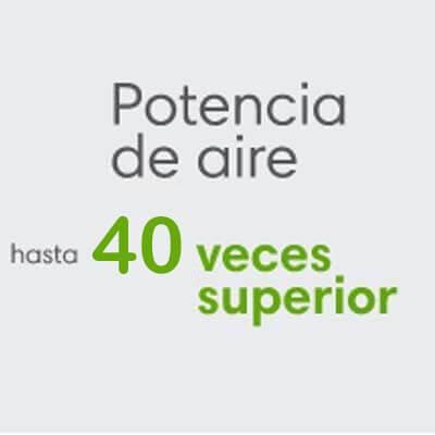 Roomba S9 potencia 40 veces superior