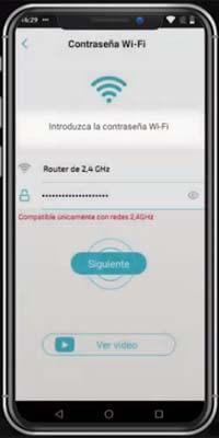 Conexión a app 3º paso