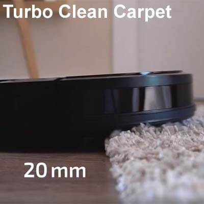 Activa el Turbo de manera automática en las alfombras