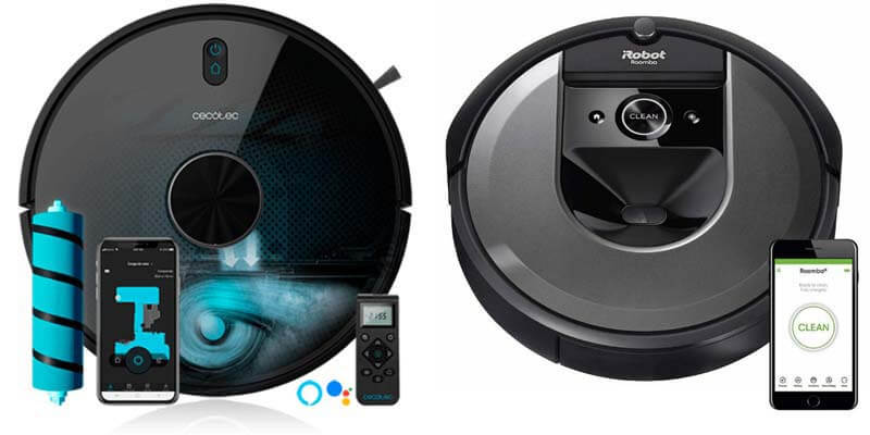 Conga 5090 vs Roomba i7