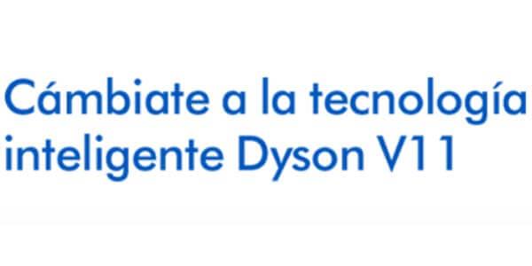 Tecnología inteligente Dyson V11