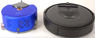 Dyson 360 Heurist vs Roomba i7