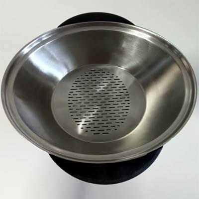 Taurus Mycook Touch vaporera de acero