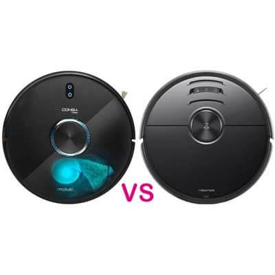 Conga 7090 AI vs Roborock S6 MaxV