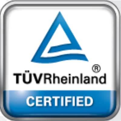 Filtrado certificado TÜV Rheinland