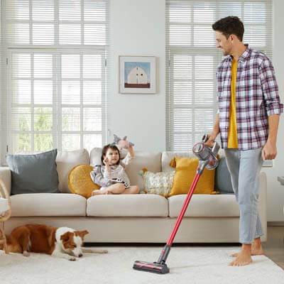 Perfecta para hogares con mascotas y niños