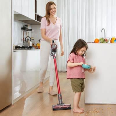 Limpia eficazmente todo tipo de partículas