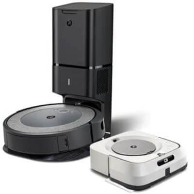 Pack Roomba i3 plus Braava m6 blanca